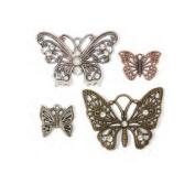 Janlynn Steampunk Butterflies Charm