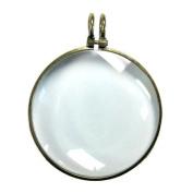 Janlynn Steampunk Magnifying Glass Charm