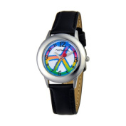 Red Balloon Unisex Peace, Love & Happiness Tween Watch