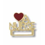 Prestige Medical Love a Nurse Cloisonne Badge Tac