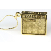 Harmony Jewellery Mesa Boogie Amp Necklace in Gold