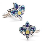 Cufflinks, Inc. PD-HOR-SL New Orleans Hornets Cufflinks