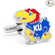Cufflinks, Inc. PD-KU-SL Kansas University Jayhawks Cufflinks
