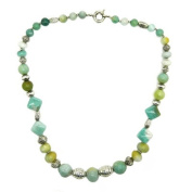 Pearlz Ocean Amazonite Graduated 24'' Fashion Necklace
