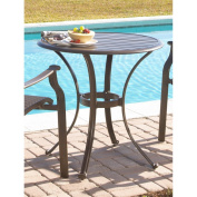 Panama Jack Island Breeze Slatted Aluminium 76.2cm . Bistro Dining Table - Espresso