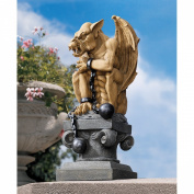 Design Toscano Ball-and-Chain Gothic Dungeon Gargoyle Statue
