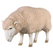 Design Toscano NE867046 Merino Ewe Life-Size Head Down Sheep Statue
