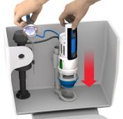 MJSI Inc HYR270 HydroRight Drop In Dual Flush Converter
