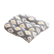 Pillow Perfect 476551 Rodrigo Chair Cushion in Graphite