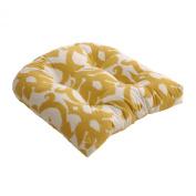 Pillow Perfect 473024 Azzure Chair Cushion in Marigold