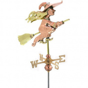 Good Directions Witch Weathervane with Garden Pole