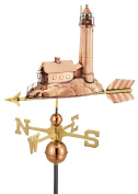 Good Directions 624P Lighthouse Weathervane Polished Copper