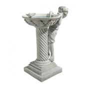 Design Toscano Summer's Splash Birdbath Statue
