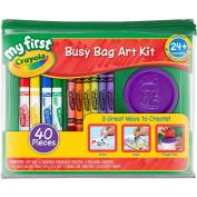 My First Crayola Busy Bag Art Kit