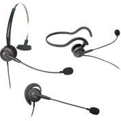 Tria Convertible Monaural Single-Wire Headset for Headset-Ready Phones and V-Series Quick Disconnect