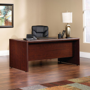 Sauder Cornerstone Executive Desk, Classic Cherry Finish