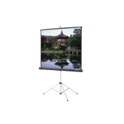 Da-Lite Grey Carpeted Picture King With Keystone Eliminator Projection Screen - High Power - Grey - 69'' x 92'' Video Format