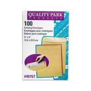 Quality Park Products Catalogue Envelope, Plain, 28Lb, 6''x9'', 100/BX, Kraft