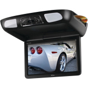 Boss BV11.2MC 28.4cm Flip-Down Monitor with Built-In DVD Player, Interchangeable Housings and Headphones