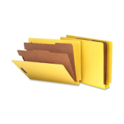 Smead Manufacturing Company SMD26789 Classification Folder- 5.1cm . Expansion- Letter- Yellow