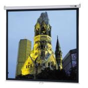 Da-Lite High Contrast Matte White Model B Manual Screen with CSR - 57.5'' x 92'' 16:10 Ratio Format