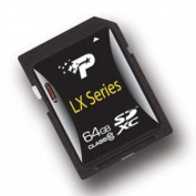 Patriot Memory PSF64GSDXC10 LX Series Signature Flash Flash memory card - 64 GB