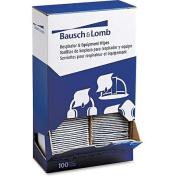Bausch & Lomb 5 x 8 Antibacterial Office Equipment Wet Wipes