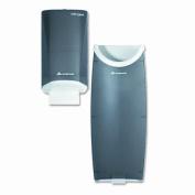 GEORGIA PACIFIC                                    Safe-T-Garddoor Tissue Dispenser and Trash Receptacle, Smoke