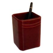 Bey-Berk D1121 Pencil Box - Tan Leather