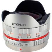 Elite Brands FE75MFT-S Rokinon 7.5mm Ultra Wide Fisheye Lens for Micro Four Thirds