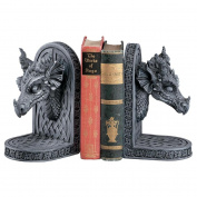 Grey Friar Dragon Bookends