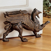 Design Toscano The Growling Gryphon Foundry Iron Doorstop