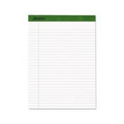 Ampad Earthwise by Ampad Recycled Writing Pad, 8 1/2 x 11 3/4, WE, 40 SH, 4/PK