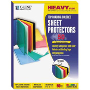 C-Line Products, Inc. Coloured Polypropylene Sheet Protector