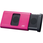 JVC SPA130P Portable Compact Speaker, Pink
