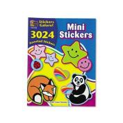 TEACHER CREATED RESOURCES                          Mini Size Sticker Book, 3,024/Pack