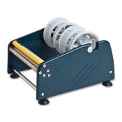 Tatco Shipping Label Dispenser, 4 Adaptors W/ 3'' Core, Blue