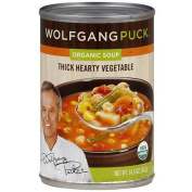 Wolfgang Puck Thick Hearty Organic Vegetable Soup, 430ml