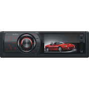 Bravo View IND-3000U In-Dash DVD/CD/MP3 Receiver with 7.6cm Widescreen TFT-LCD and USB/SD/AV-IN