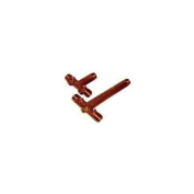 Simmons 705SB Fabricated Long Tank Cross, 10 in Tank Tee L, 3/4 in Female X 1 in Male Nominal Size