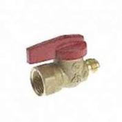 B & K Industries 117-1510cm X 1.3cm Aga Gas Heater Valve For Heaters - Flare X Fip - Each