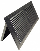 Norwesco 558026 40.6cm x 15.2cm Galvanised Soffit Vents with Damper