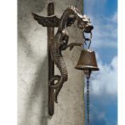 Design Toscano Florentine Dragon Gothic Iron Doorbell