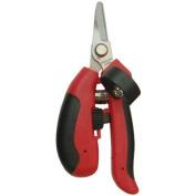 Barnel USA BP3001S 17cm Palm Fit Straight Bypass Blade Needlenose Garden Shear/Pruner