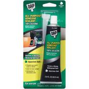 Dap 00688 Household Waterproof Adhesive Sealant, 100% Silicone, 80ml Tube