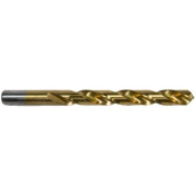 Morris Products 4.38'' Titanium Coated High Speed Steel Drill Bit