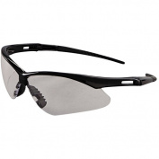Jackson* Safety Brand Nemesis Safety Glasses, Black Frame, Clear Anti-Fog Lens