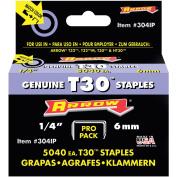 Arrow Fastener 0.6cm T30 Staples