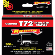 Arrow Fastener Co. .48in. T72 Insulated Staples 721168