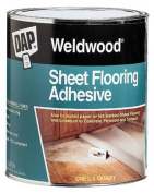 Dap 1 Quart Weldwood Sheet Flooring Adhesive 25176